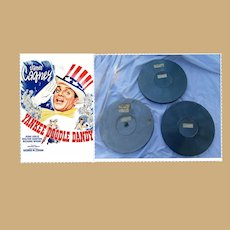 1942 Original 3 Reel Film Yankee Doodle Dandy Movie James Cagney