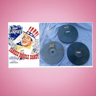 1942 Original 3 Reel Film Yankee Doodle Dandy Movie James Cagney