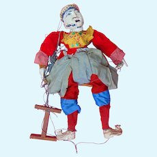 Antique Chinese Marionette Carved Puppet