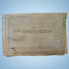 Ship Log Book of The Homer and The Reaper War of 1812-1826 Thomas Sturdivant Captain  Yarmouth, Maine