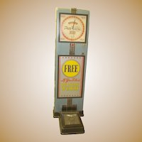 Time Machine Find~1939 Woolworth Drug Store Free Weight Scale