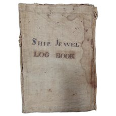 Ship Jewell Logbook of Captains Joseph Smith and Richard Keating 1817 to 1819 Portland,Me