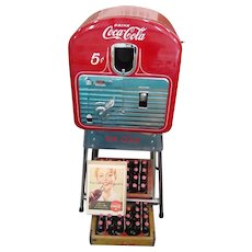 Restored Coca-Cola Vendorlator 5 Cent Machine