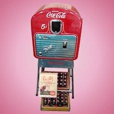 Restored Coca-Cola Vendorlator 5 Cent Machine