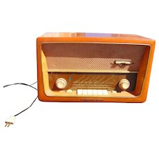 Groovy German Radio Emud Senior 60 AM FM SW 1950's