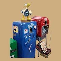 Original Pepsi-Cola Vendo 33 Single Drink Vending Machine