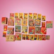 Collection of Rare Comic Books Little Big Books Disney Donald Duck & More