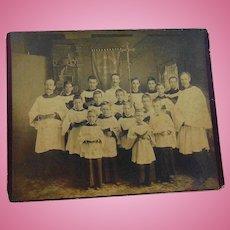 Holy Trinity Episcopal Church Boys Choir 1888 Gainesville,Florida