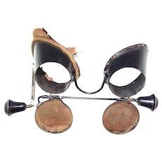 Real period Victorian Steampunk Goggles Glasses