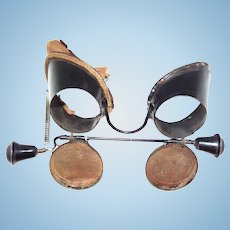 Real period Victorian Steampunk Goggles Glasses