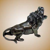 Art Deco Roaring Lion Cigarette Snuffer Ash Tray