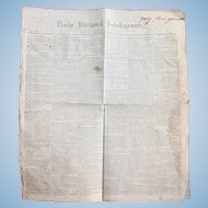 Washington Globe (Newspaper) - March 16, 1838, Washington, District Of Columbia