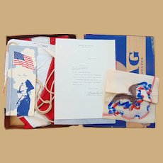 Donald Rumsfeld's Personal American Flag from 1966