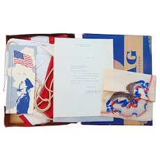 Donald Rumsfield's Personal American Flag from 1966