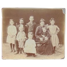 Tombstone, Arizona Territory  Old West Family by C.S.Fly Photograph