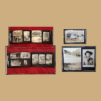 1930's Family Photo Album Texaco Gas Station 330 photos & RPPC