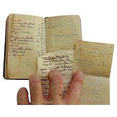 1934 Diary Trip to California from Mt. Dora,Florida