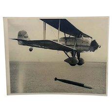German Luftwaffe Empire Day Press Photo May 11th 1939 Italian Torpedo Plane