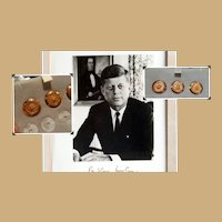 President John F.Kennedy's 14k Gold Suit Buttons with Provenance JFK