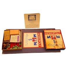 Original 1935 Monopoly Game & Board