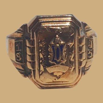 1945 Douglas Center African-American 10K High School Ring Live Oaks,Florida