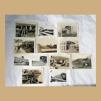 Original Snapshot photographs of the 1933 Long Beach, Ca Earthquake