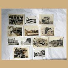 Original Snapshot photographs of the 1933 Long Beach, Ca Earthquake
