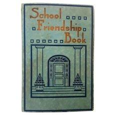 1925 Scrapbook of St. Charles High School student Doris Howard~Halloween, Baseball and Football