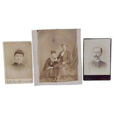 The Romance of William & Ida Holdrege of Oneonta,New York Photographs