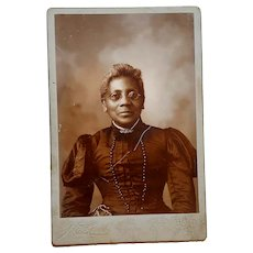 Cabinet Photo former slave of the John Hopkinson Plantation in South Carolina