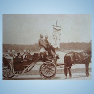 1897 Jamaica Plains,New York Canal Association July 4th Parade Photograph