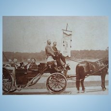 1897 Jamaica Plains,New York Canal Association July 4th Parade Photograph