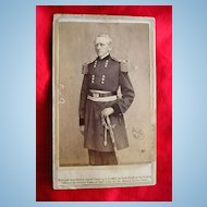 General John Wool Civil War CDV Matthew Brady Photograph