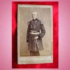 General John Wool Civil War CDV Matthew Brady Photograph