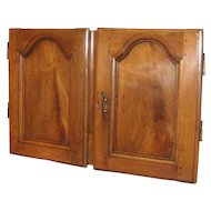 18th c. French Country Louis XV Buffet Doors