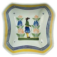 French Faience Quimper Bowl