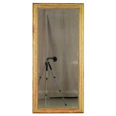 Late 19th c. French Gilded Mirror