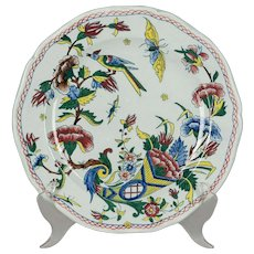 19th c. French Gein Faience Plate