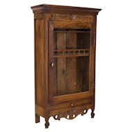 18th c. Provencal Miniature Armoire or Verrio