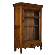 19th Century French Miniature Armoire or Provençal Verrio