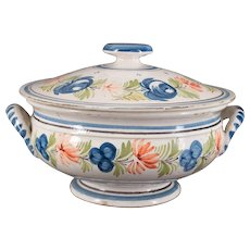 French Quimper Covered Dish