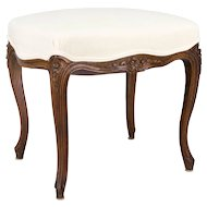 Louis XV Style Foot Stool or Bench