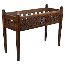Early 19th c. French Baby Crib or Planter