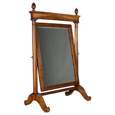 19th Century French Empire Period Cheval Mirror