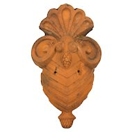 French Terracotta Wall Decoration