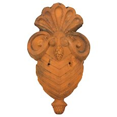 Antique French Terracotta Architectural Decoration