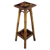 French Bamboo Small Table