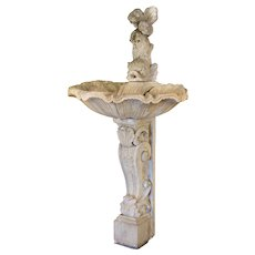 Country French Stone Fountain