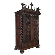 18th Century Louis XIII Style Armoire