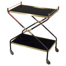 French Mid Century Bar Cart